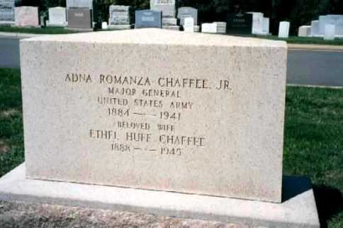AR Chaffee Jr. Gravesite PHOTO