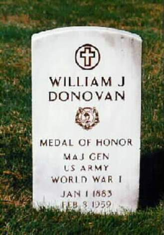 William Joseph Donovan Gravesite PHOTO