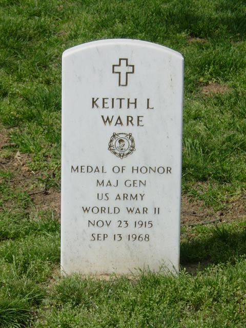 Keith Lincoln Ware, Major General, United States Army