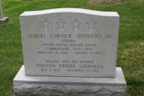 LC Shepherd Jr Gravesite PHOTO June 2003