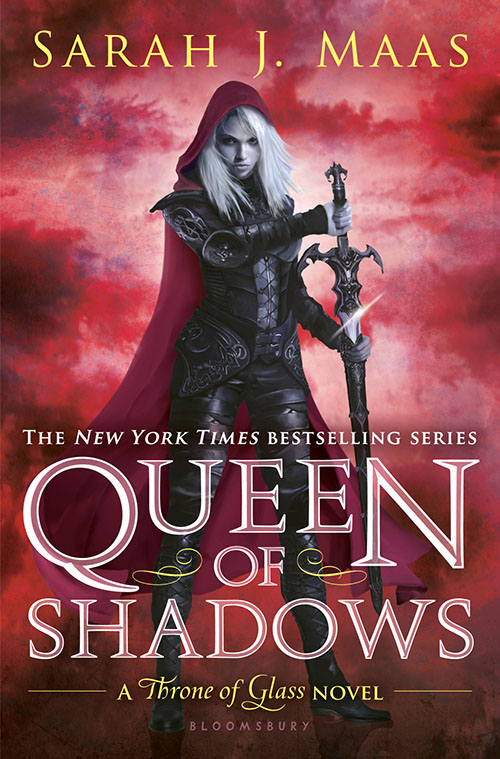 Queen of Shadows by Sarah J. Maas, published by Bloomsbury
