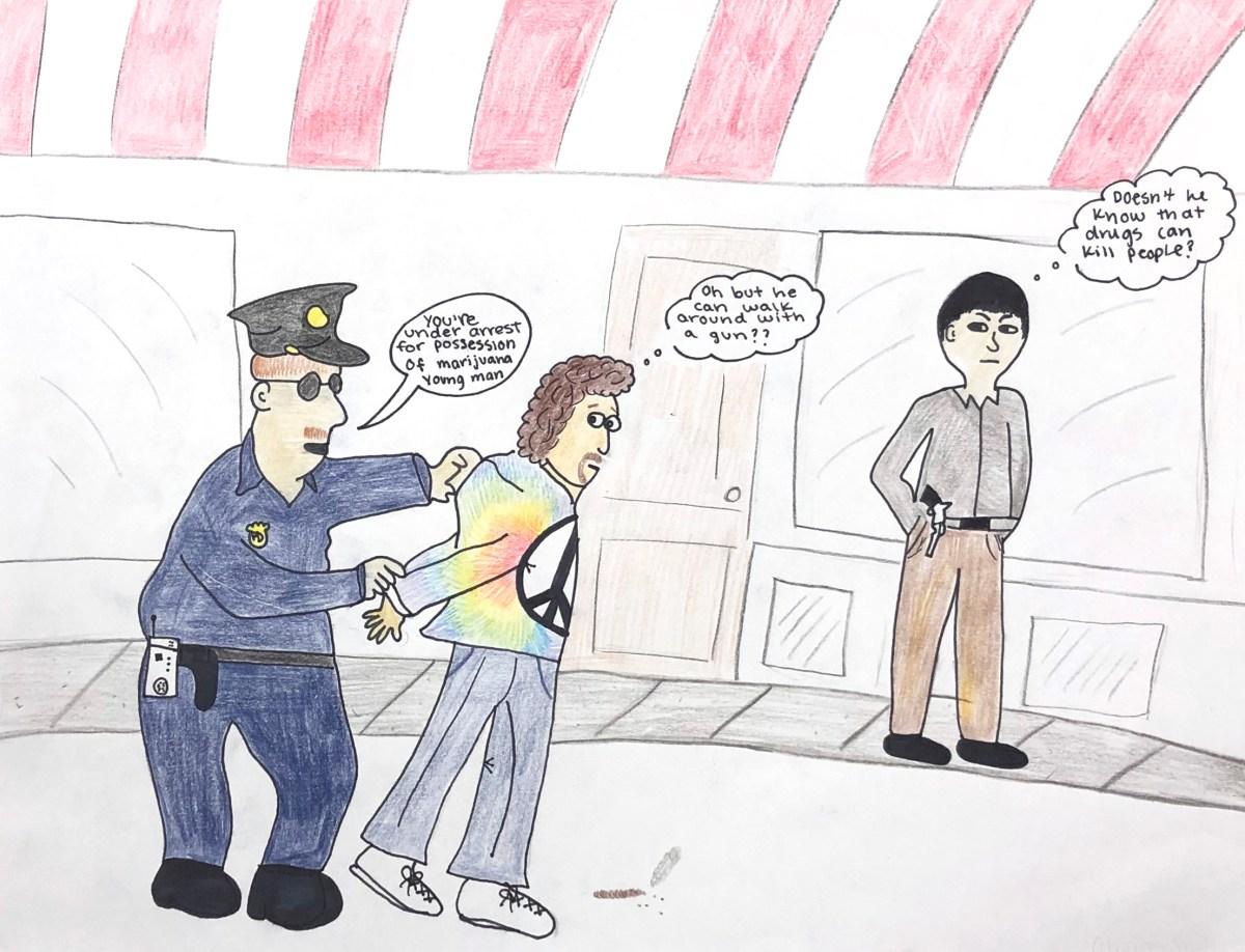 Editorial Cartoon by Olivia Smith