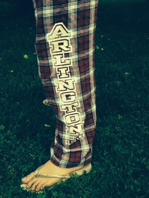 ASC plaid pants