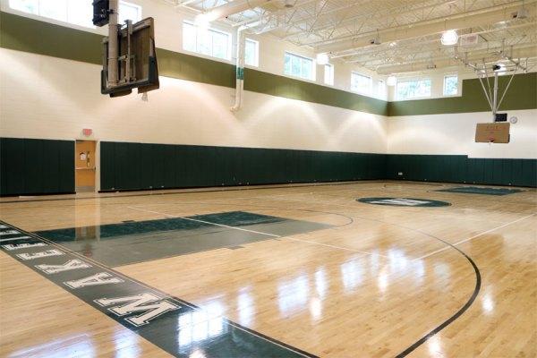 Wakefield's auxiliary gym   ARLnow.com