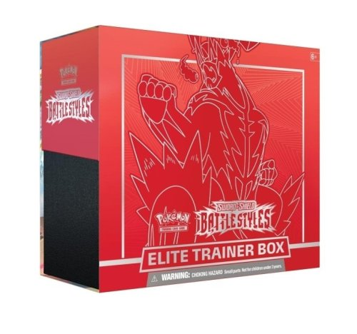 Battle Styles Elite Trainer Box Single Strike