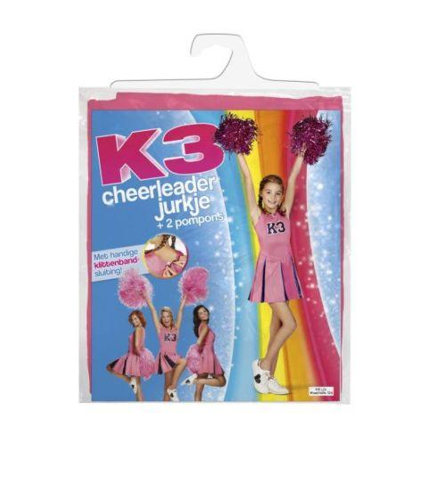 K3 cheerleaderjurkje