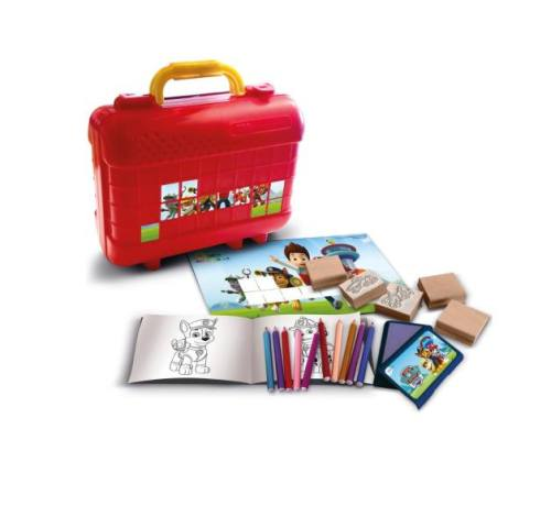 Stempel potloden koffer Paw Patrol cadeau Lelystad