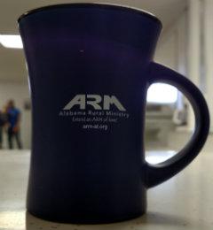 Blue Curve Coffee Mug