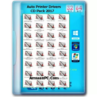 Printers Auto Drivers Pack CD 2017 ISO Size--{680-MB}