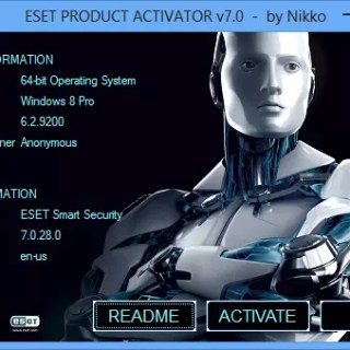 ESET NOD 32 PRODUCT ACTIVATOR UNIVERSAL TRIAL RESETTER