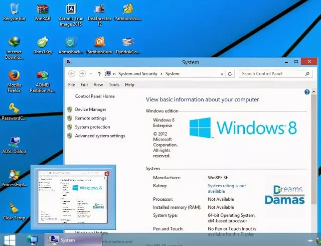 Dreams Boot CD UEFI v4 Size - 750MB By CmTeamPk