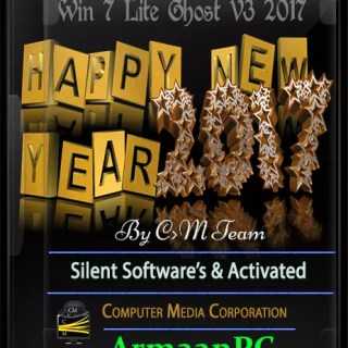 Windows 7 {Happy New Year Edition} X86 Sp1 Super Lite Ghost+Software V3 2017 By CmTeamPk Size=983MB