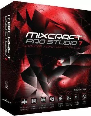 Acoustica Mixcraft 8.1 Build 415 + Keygen [Full] 2018