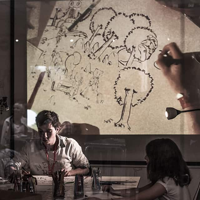 Photo d'ambiance La Fête #5 - atelier arts plastiques