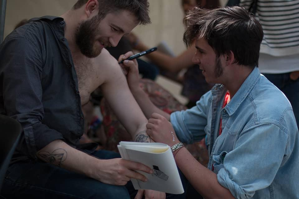 Photo de l'atelier tatouages éphémères par LISAA - La Fête #5