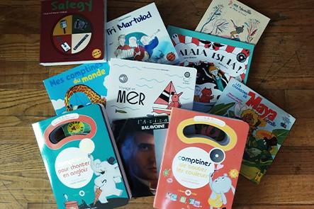 Photo de livres pour enfants