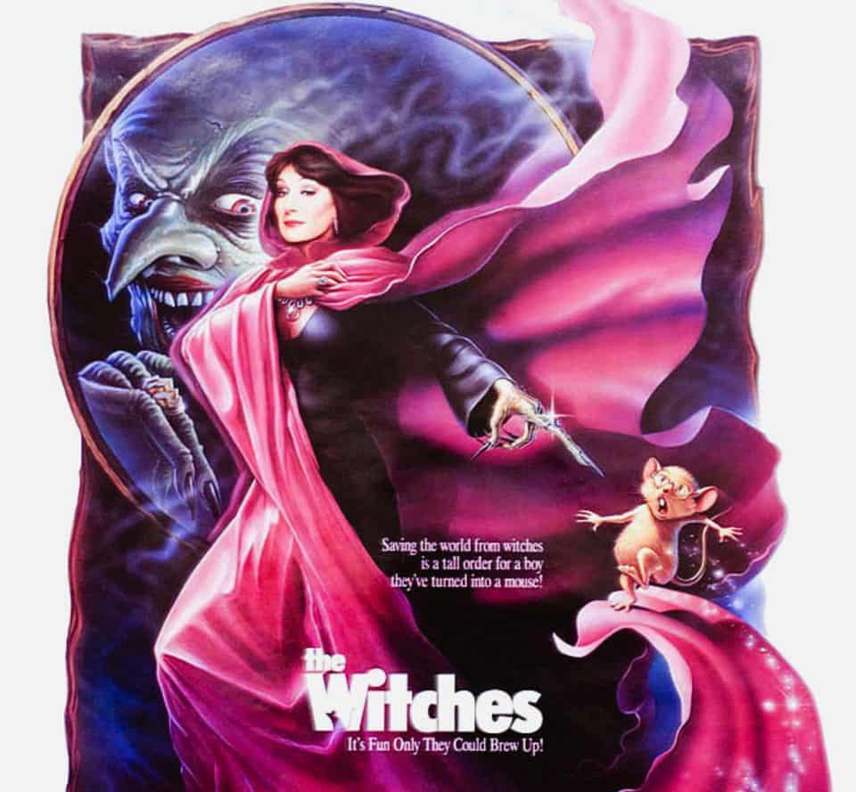 Illustration Mercredi - Affiche du film The Witches
