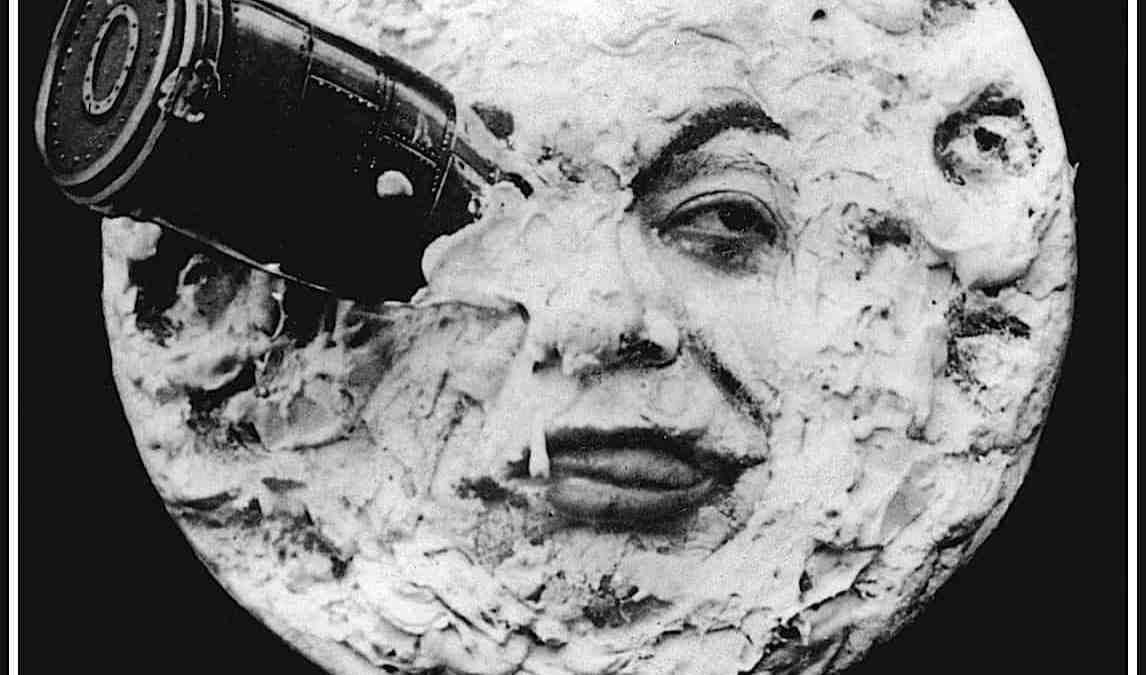 Illustration - Le voyage dans la Lune de Georges Melies