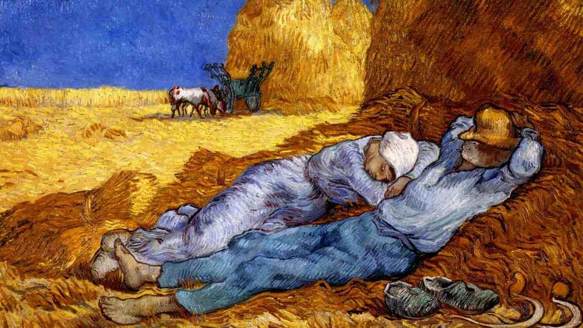 Illustration Mercredi 18 novembre 2020 - Tableau de Van Gogh