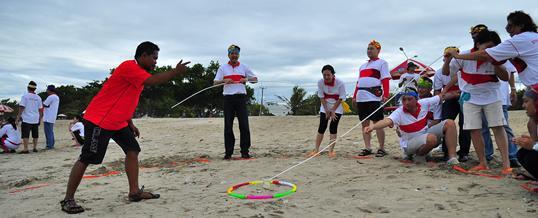 Outbound di Bali Pantai Tanjung Benoa New 2015