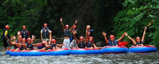 Tubing di Bali - Bali River Tubing
