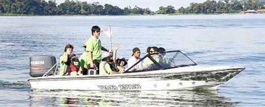 Outbound di Bedugul Wana Villa Cross Lake