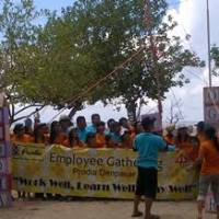 Team Building di Bali - Pantai Mertasari Sanur
