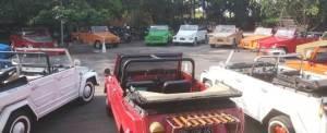 VW Safari di Bali Parkir Melingkar