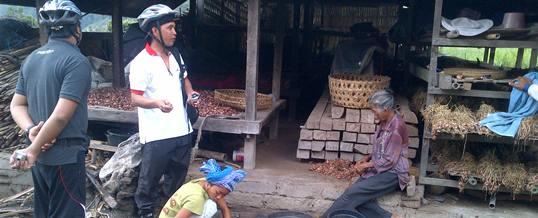 Cycling Bali Local People