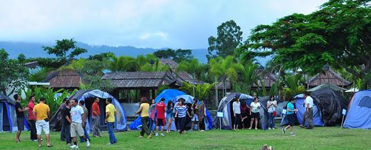 Gathering di Bali - Toya Devasya Camping 1