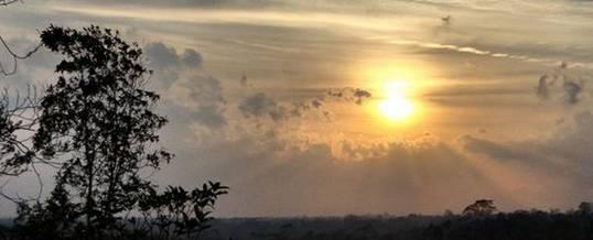 Landih Ashram Sunset