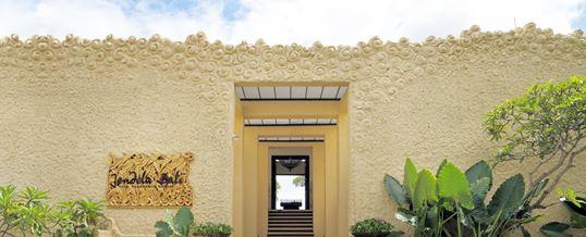 Garuda Wisnu Kencana - GWK Jendela Bali Restaurant Gate