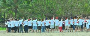 Outbound Bali Kuta Ice Breaking
