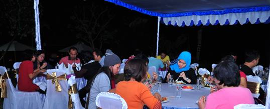 Outing Bali Dinner