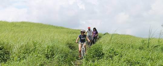 Outing Bali Taro Cycling & Ayung Rafting 022015