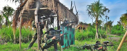 Paintball Bali Wake Bali Adventure