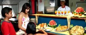 Quicksilver Cruise Bali Lunch