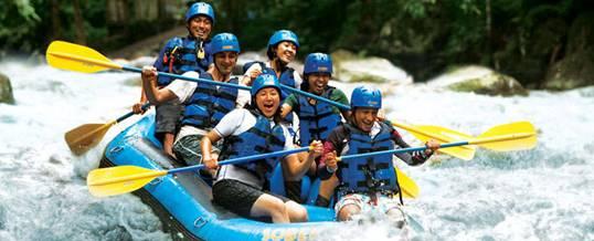 Rafting Sobek di Bali Sungai Ayung dan Telaga Waja