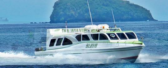 Wisata Adventure Bali Ekajaya Fastboat