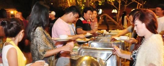 Gathering Bali The Pirates Bay Dinner