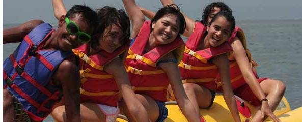 Outbound Bali Banana Boat