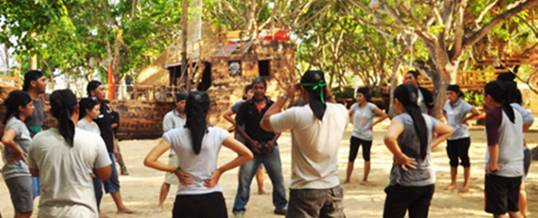 The Pirates Bay Bali Team Building