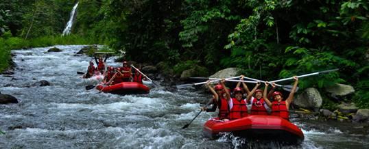 Adventure Rafting Bali Telaga Waja