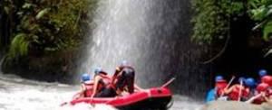Rafting Bali Dewata Air Terjun