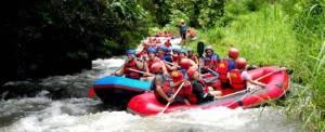 Rafting di Bali Telaga Waja Dewata