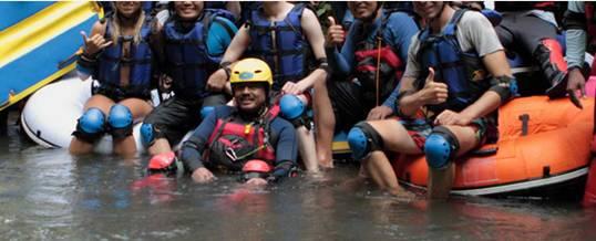 Tubing Bali Bio Adventure Tanah Wuk Sangeh
