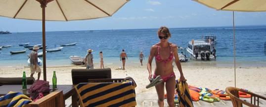 Beach Bali Marine Walk