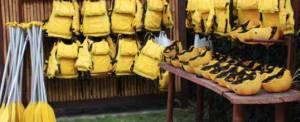 Rafting di Bali Telaga Waja Equipment