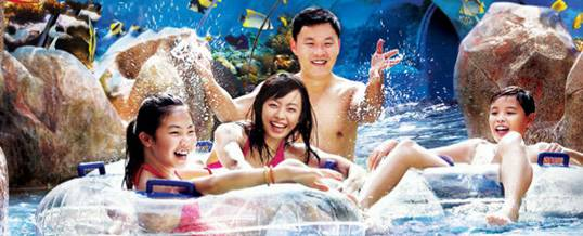Singapore Adventure Cove Waterpark