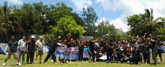 Adventure Outbound BTDC Foto Bersama 2